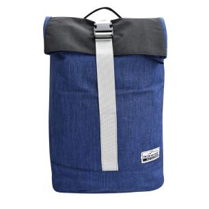 Επεκτεινόμενος σάκος πλάτης laptop I'M ON MY WAY 42(+20)Χ30Χ15εκ, BG049 μπλε