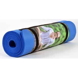 Υπόστρωμα, στρώμα γυμναστικής, αφρώδες 1,80cm x 0,60cm x 0,10mm No V-271 μπλε