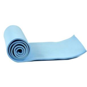 Υπόστρωμα, στρώμα γυμναστικής, αφρώδες 1,80cm x 0,50cm x 8mm EVA MAT 0,8 μπλε