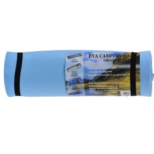 Υπόστρωμα, στρώμα γυμναστικής, αφρώδες 1,80cm x 0,50cm x 6mm EVA MAT 0,8 μπλε