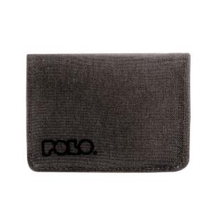 Πορτοφόλι POLO SMALL WALLET 938013 γκρι ανθρακί