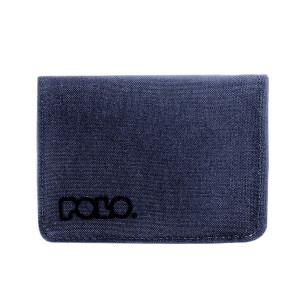 Πορτοφόλι POLO RFID SMALL WALLET 938013-05 μπλε