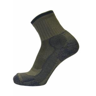 Τεχνικές κάλτσες ALPIN TEC TREKKING LIGHT χακί/μπλε