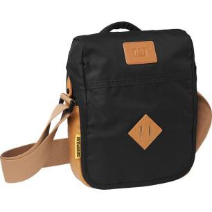 Τσάντα ανδρική ώμου 28x24x6cm CATERPILLAR 83786-01 black