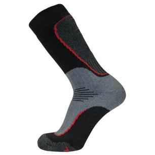 Τεχνικές κάλτσες ALPIN TEC HEAVY TREKKING MERINO μαύρο-γκρι