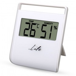 Life FLEXY Thermometer with hygrometer White WES-102