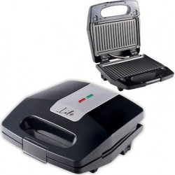 Life Sandwich toaster with grill plates and on/off switch 700W STG-200