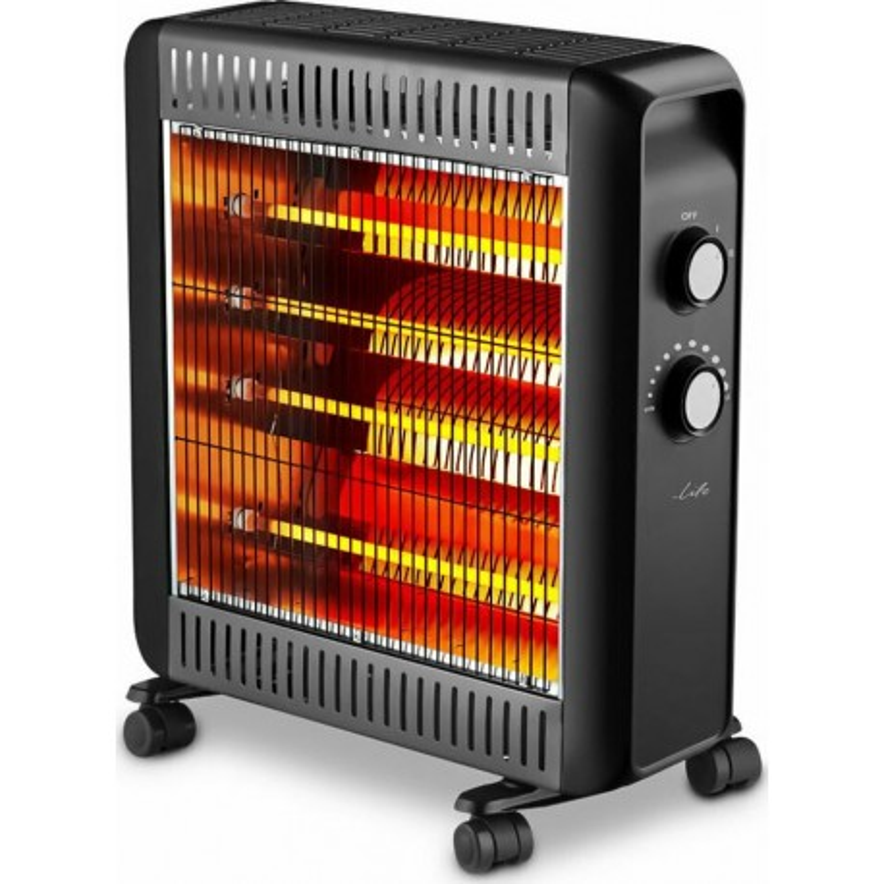 Life Cozy Quartz Heater 2200W With Adjustable Thermostat