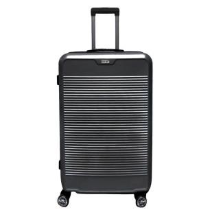 """Βαλίτσα 24"""", 65X40X25cm COLORLIFE 8010/24 γκρι"""