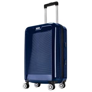 """Βαλίτσα 24"""", 65X40X25cm COLORLIFE 8010/24 μπλε"""