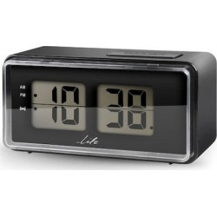 Life ACL-100 Ψηφιακό Ρολόι / Ξυπνητήρι Με Οθόνη LCD Και Retro Flip Design