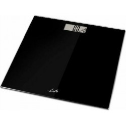 Life YOGA Body Fat Scale Glass Surface Black 221-0180