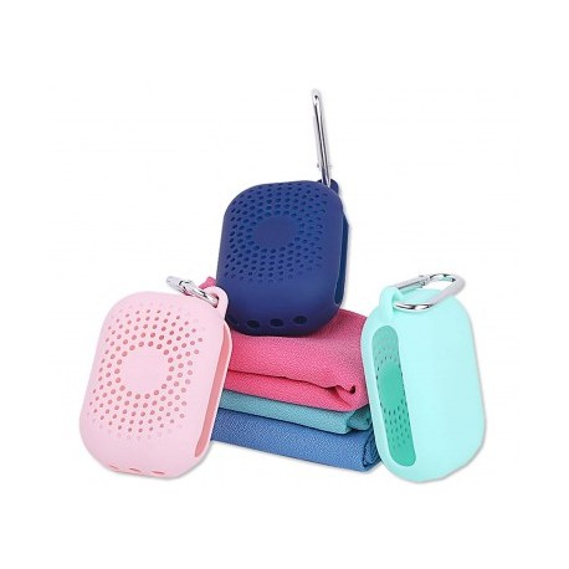 Pocket XtraDryFast Microfiber Πετσετα ALPIN CYAN