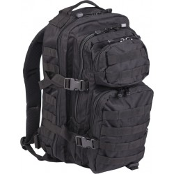Mil-Tec US Assault Backpack Small Black 20lt
