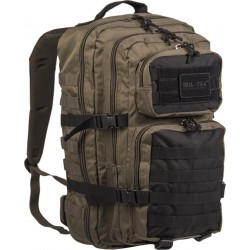 Mil-Tec US Assault Backpack Large Ranger Green/Black 36lt