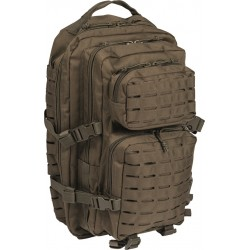 Mil-Tec US Laser Cut Assault Backpack Large Olive 36lt
