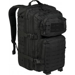 Mil-Tec US Laser Cut Assault Backpack Large black 36lt