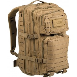 Mil-Tec US Laser Cut Assault Backpack Large Coyote 36lt