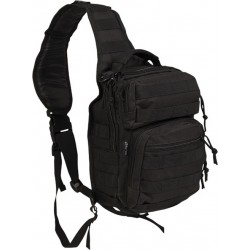Mil-Tec One Strap Assault Pack Small black 10lt