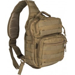 Mil-Tec One Strap Assault Pack Small coyote 10lt