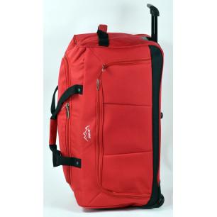 Τσάντα τρόλεϊ 70x35x35 cm/ σακ βουαγιάζ με ρόδες κοκκινο