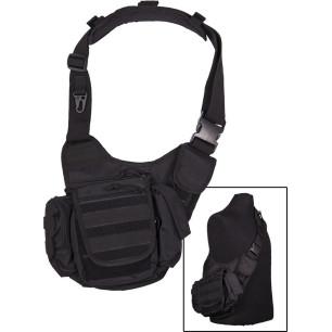 Mil-Tec Sling Bag Multifunction Black Τσαντάκι ώμου