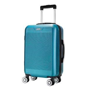 """Βαλίτσα καμπίνας 20"""", 55Χ36Χ20cm COLORLIFE ΑΒ8010/20"""" πετρόλ"""