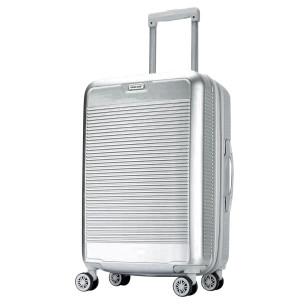 """Βαλίτσα 24"""", 65X40X25cm COLORLIFE 8010/24 ασημί"""