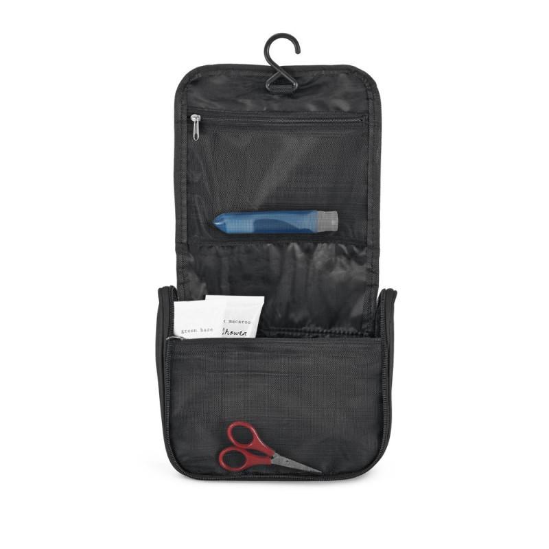 Hidea Τσάντα Μπάνιου willis cosmetic bag Μαύρη