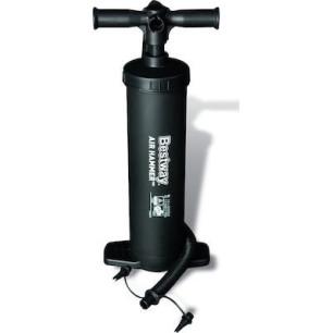 Bestway Τρόμπα Αέρος Διπλής Ενέργειας Χειρός Μαύρη Air Hammer™ BW62030