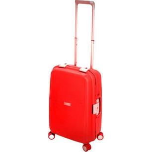 Βαλίτσα Σκληρή Stelxis 515 Κόκκινη με 4 Ρόδες Μεσαία