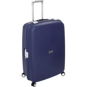 Βαλίτσα Σκληρή Stelxis 515 Μπλε με 4 Ρόδες Μεγάλη